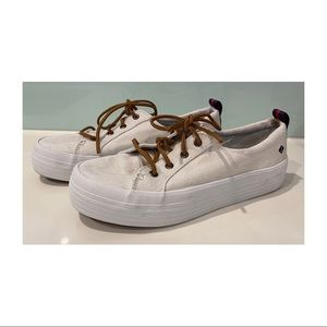 Womens Sperry Top Sider canvas shoe size 7.5 AUS